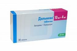 Дальнева, табл. 10 мг+8 мг №30