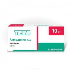 Амлодипин-Тева, табл. 10 мг №30